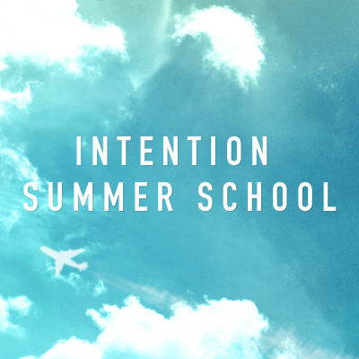 Intention Summer School 2018